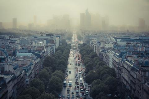 vignette crit air Paris pollution