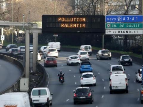 vignette crit air paris, pic de pollution juillet 2018